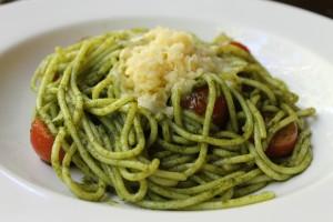 Spaghetti w Chaya Pesto