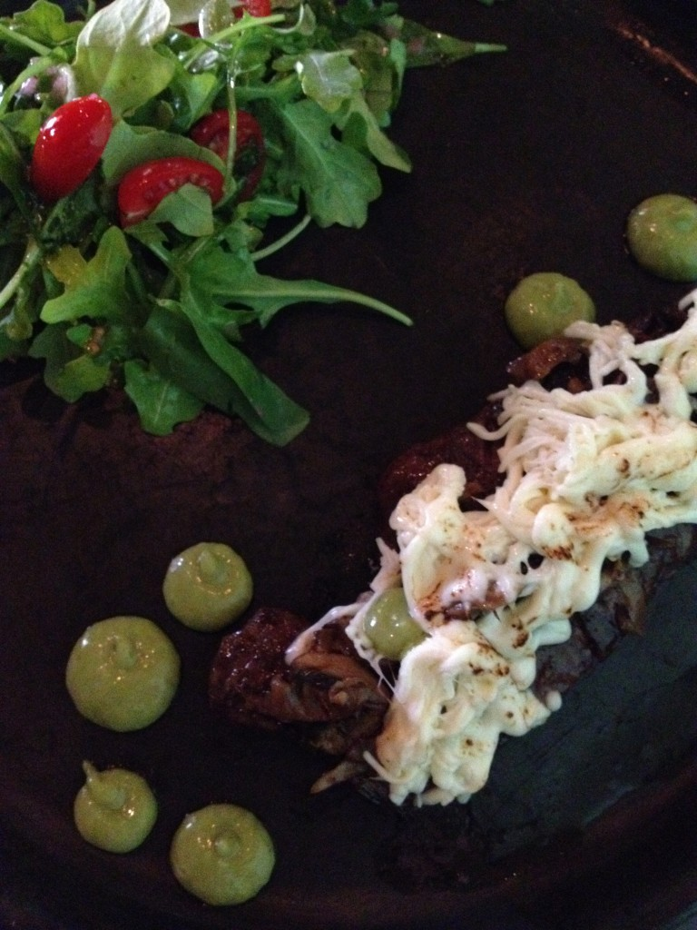 The arrachera plate