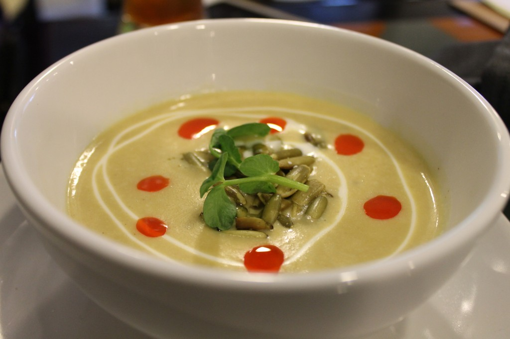 Squash soup!