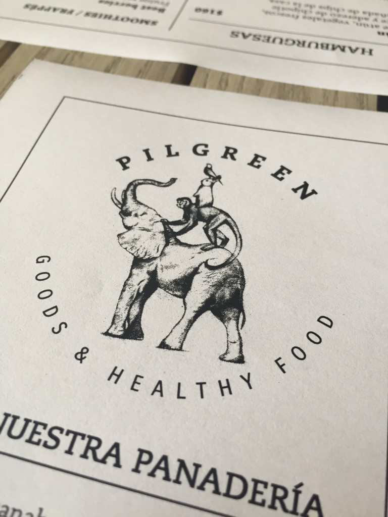Pilgreen Menu